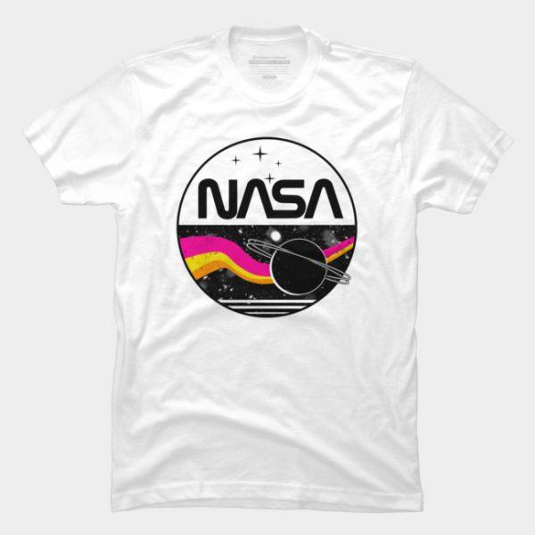 Áo Thun Retro NASA